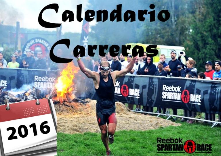 calendario carreras 20161
